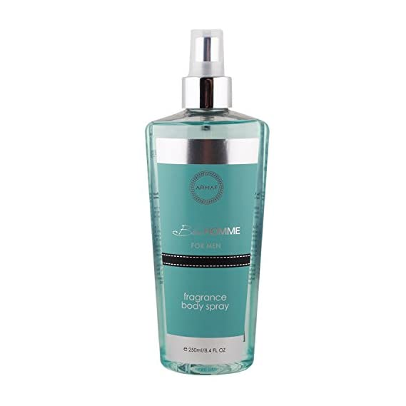 Armaf Blue Homme Fragrance Body Sprey For Men 250 ml (Body Mist)(by G.C.GS)