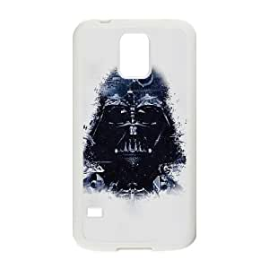 Darth Vader Art Star Wars Illust plastic funda Samsung Galaxy S5 cell phone case funda white cell phone case funda cover ALILIZHIA12237