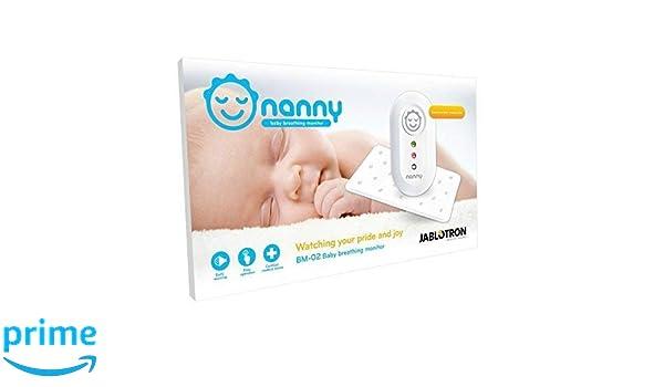 NANNY Monitor - Dispositivo de Monitorización Respiratoria para Bebés (+1 Sensor Adicional): Amazon.es: Bebé
