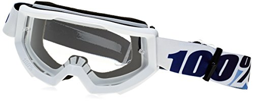 100% STRATA Goggles Ice Age - Clear Lens, One Size