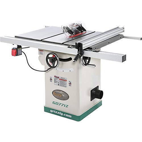 "Grizzly Industrial G0771Z - 10"" 2 HP 120V Hybrid Table Saw with T-Shaped Fence"