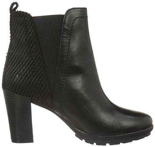 XTI 65364, Zapatillas de Estar por Casa para Mujer Negro