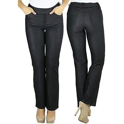 ToBeInStyle Women's High Waist Boot-Cut Dress Pants at Women's Clothing store