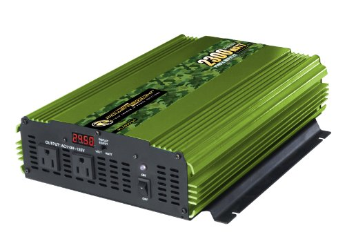 Power Bright ML2300-24 2300 Watt 24 Volt DC To 110 Volt AC Power Inverter