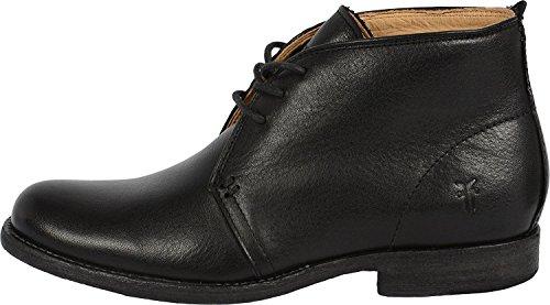 Frye Mujeres Phillip Chukka Black Soft Vintage Leather