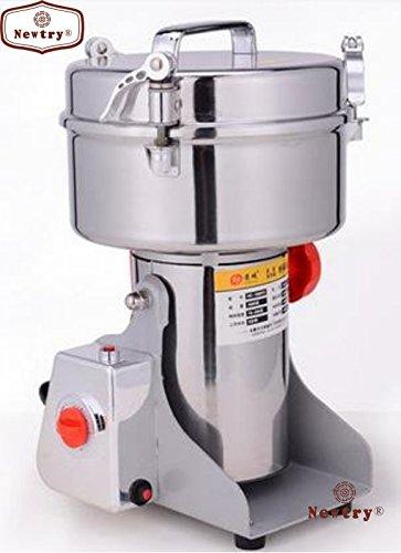 Swing Type electric herb grain grinder cereal mill flour powder machine herb pulverizer superfine Powder Machine (700g) - Electric Flour Mill