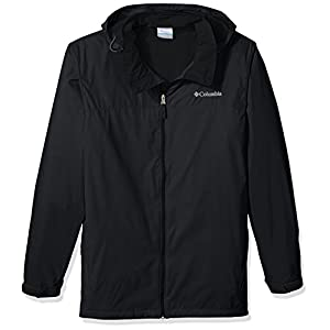 Columbia Men's Big and Tall Glennaker Lake Lined Rain Jacket, Black, 3XT