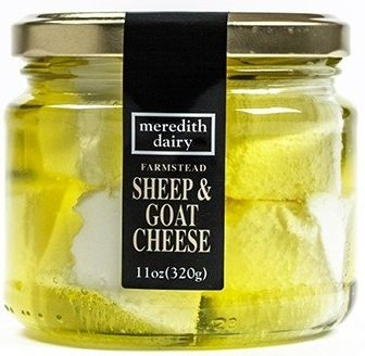Australian Marinated Sheep & Goat Cheese by Meredith Dairy - 11 Ounces (Pack of 6)