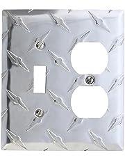 Amerelle Garage Diamond Cut Aluminum Wallplate