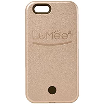 LuMee, Illuminated Cell Phone Case for iPhone 6 - Rose Gold