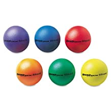 "Champion Sports - Rhino Skin Ball Sets, 7"", Blue, Green, Orange, Purple, Red, Yellow, 6/Set RS7SET (DMi ST"