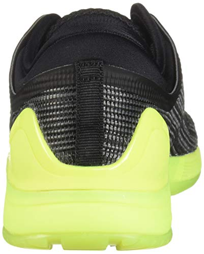 Reebok Men's CROSSFIT Nano 8.0 Sneaker, Alloy/Black/Solar Yellow, 6.5 M US by Reebok (Image #2)