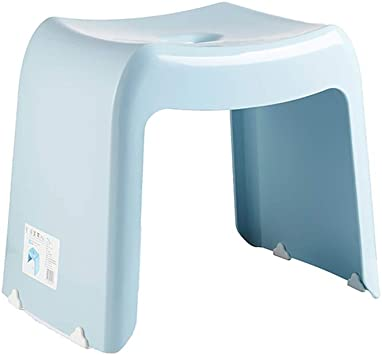 Blue High Quality Sturdy Plastic Step Stool Home Bathroom Kitchen