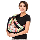 Best Baby Slings - Baby Carrier by Cuby, Natural Cotton Baby Sling Review