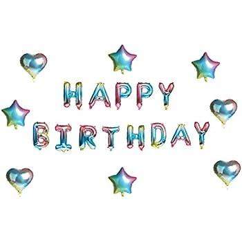 Amazon.com: Globos de cumpleaños para decoración de ...
