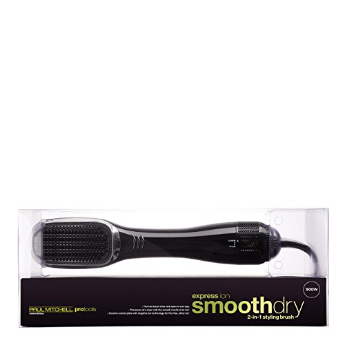 PM Pro Tools Express Ion Smooth Dry 2-in-1 Styling Brush, 1.7 lb.