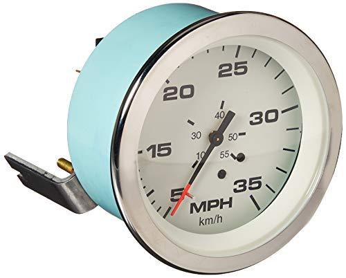 Sierra International 61751Ph Lido Pitot Type 5 to 35 Mph Dial Range Scratch Resistant Speedometer Head, 3
