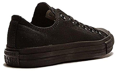 Todos los Star Converse Chuck Taylor Ox Casual subyacentes ebit/Fashion bajas de cordones zapatillas de/diseño de zapatos con negro - negro