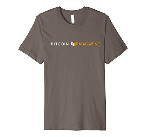Men's Bitcoin Magazine Shirt v2 Medium Asphalt