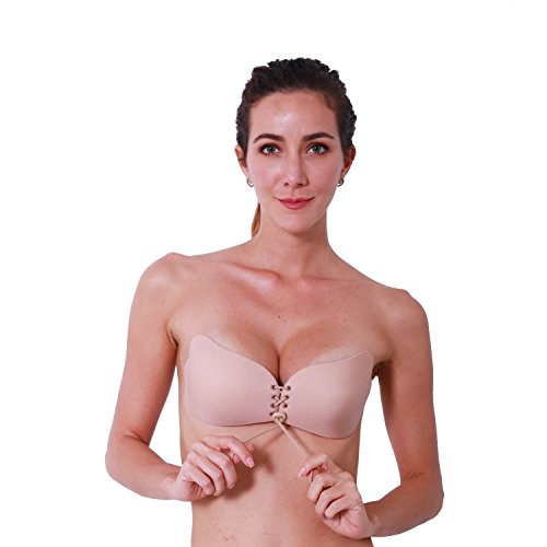 64127fbd0b6e9 AbSexy Self Adhesive Bra Invisible Strapless Push Up Bra