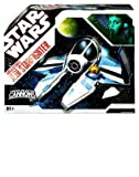 Star Wars 30th Anniversary Clone Wars Saga Vehicle Aayla Secura's Jedi Starfighter