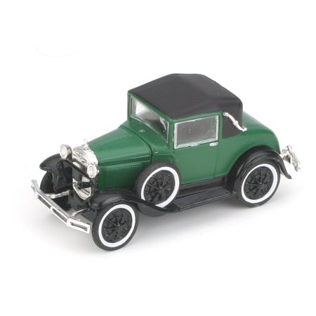 Athearn ATH26382 HO RTR Model A Sport Coupe, Dark Green