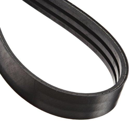 SPZ 1412X3 RIBS Ametric® Metric SPZ Profile Banded V-Belt, 3 Ribs, 9.7 mm Wide per Rib, 10.5 mm High, 1412 mm Long, (Mfg Code 1-046)