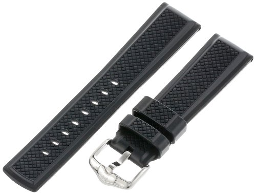 Hirsch 404788-50-22 22 -mm  Caoutchouc Watch Strap