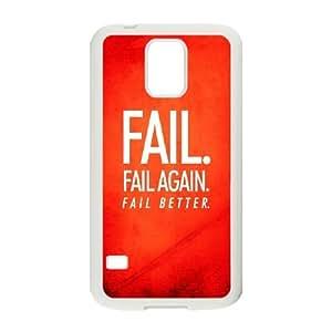 Samsung Galaxy S5 Cell Phone Case White Fail Better S4D4XW