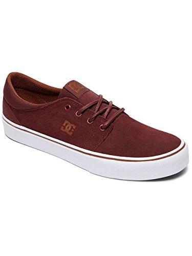 DC Trase Sd, Men's Skateboarding Shoes, Blue (White/Brown) Burgundy