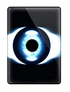 Durable Defender Case For Ipad Air Tpu Cover(eye Artistic)