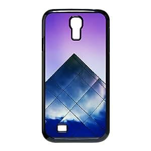 Okaycosama Pyramid Samsung Galaxy S4 Case for Men, Phone Case for Samsung Galaxy S4 M919 [Black]