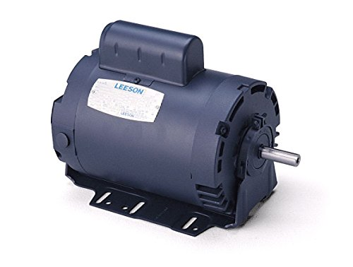 Leeson 111958.00 Variable Torque HVAC Motor, 3 Phase, G56H Frame, Rigid Mounting, 0.75HP, 1800 RPM, 208-230V Voltage, 60/60Hz Fequency by Leeson (Image #1)