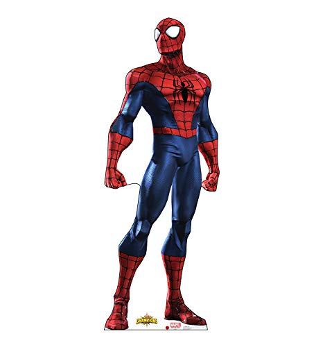 Advanced Graphics Spider-Man Life Size Cardboard Cutout Standup - Marvel: Contest of Champions -