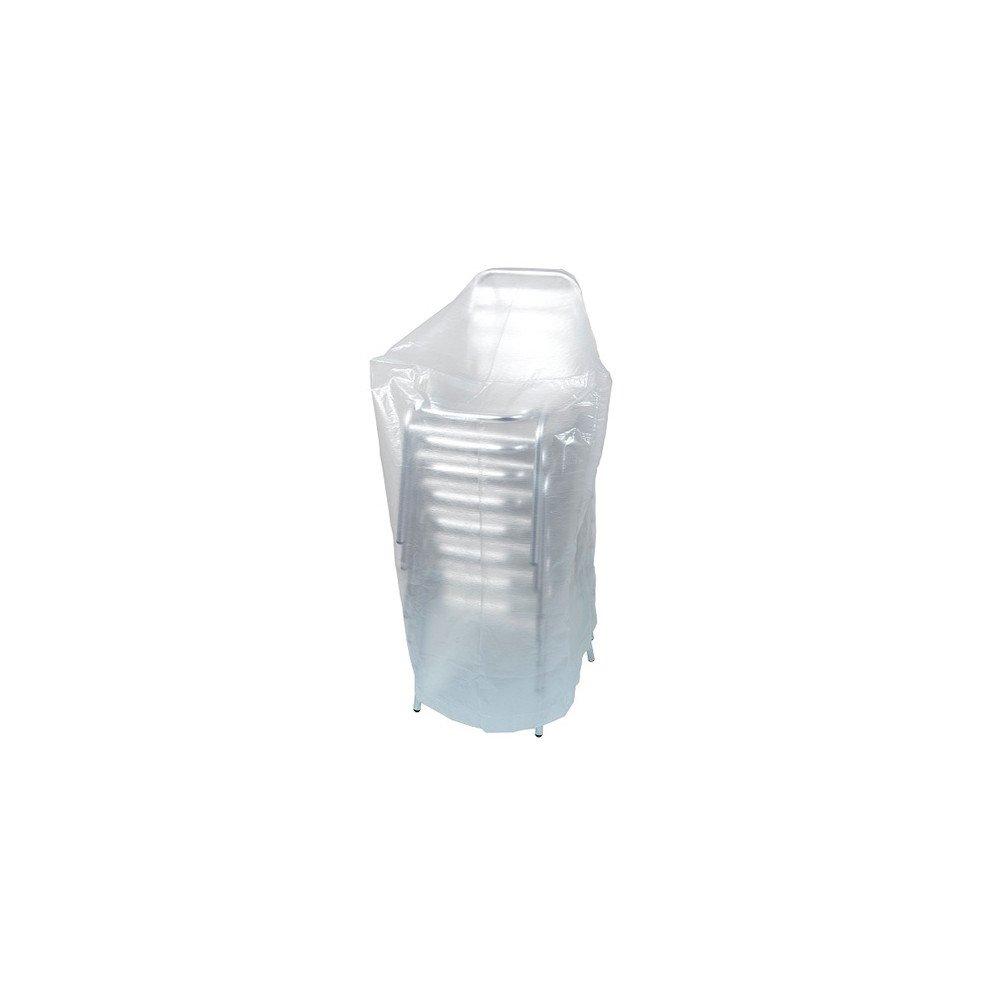 ribimex - Telo protettivo per sedie o poltroncine da giardino, 70 x 70 x 110 cm