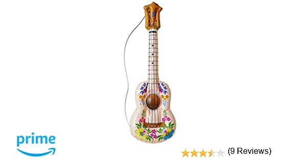Inflable Hula Guitarra 105cm inflable Accesorio para Tropical ...