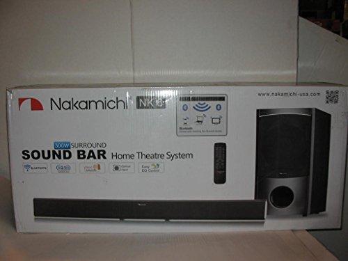Nakamichi NK6 300-Watt Bluetooth Soundbar Speaker …