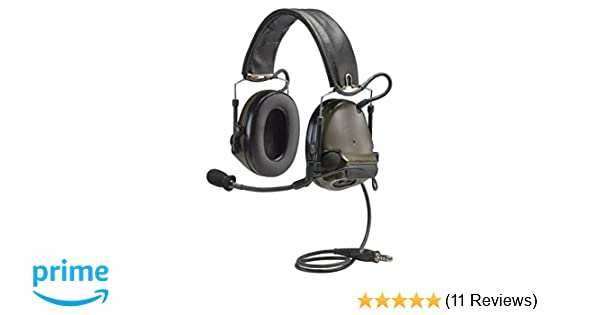 2ccf00d9eba Amazon.com: 3M Peltor ComTac III Electronic Headset FB Single Comm NATO  Olive Drab MT17H682FB-47 GN: Computers & Accessories