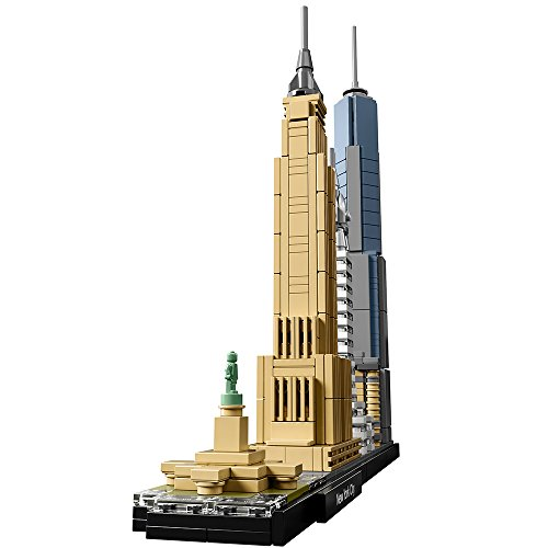 022551ab7 ... LEGO Architecture New York City 21028, Build It Yourself New York  Skyline Model Kit for ...