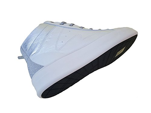 CRIME London Damen Sneaker Weiß Bianco Perlato ... 34c7c1a18f