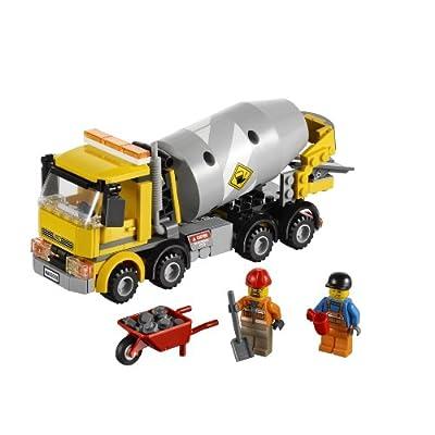 LEGO City Cement Mixer 60018: Toys & Games
