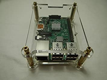 Amazon.com: Apilables carcasa para Raspberry Pi Modelo B + y ...