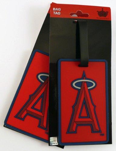 MLB Los Angeles Angels Two Pack Soft Laser Bag Tag