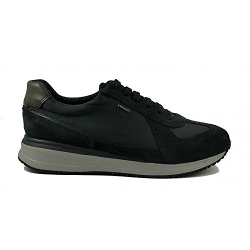 SCARPE SNEAKERS CASUAL UOMO GEOX ORIGINAL U820GB DENNIE PELLE P/E 2018 NEW