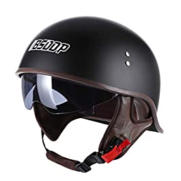 Bike Helmet, Bicycle Cycling Helmet for Men/Women with Concealed Goggles Adjustable Mountain Bike Windproof Sunproof…