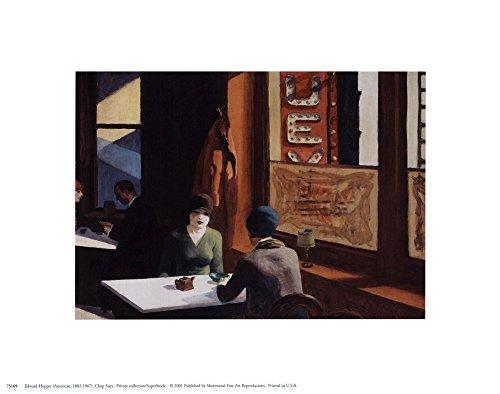 Chop Suey by Edward Hopper Art Print, 10 x 8 inches
