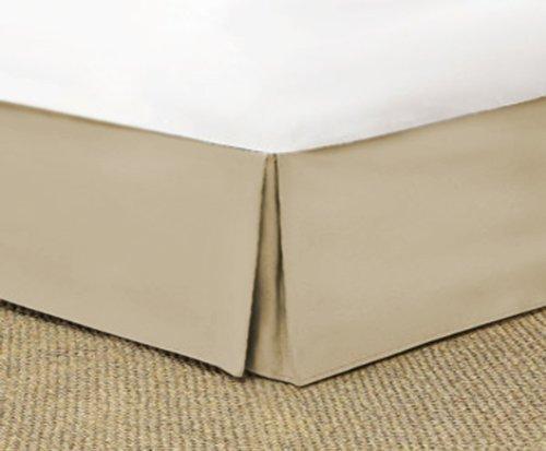 SRP寝具Real 210スレッド数分割コーナー用フリル付きベッドスカート/ほこり17