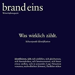 brand eins audio: Identifikation