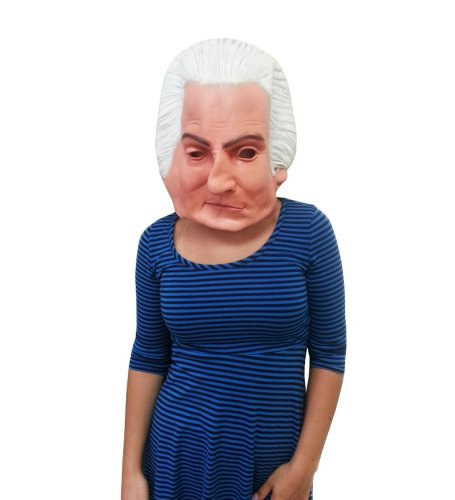 History Themed Costume (George Washington Latex Mask For History Themed Costume)