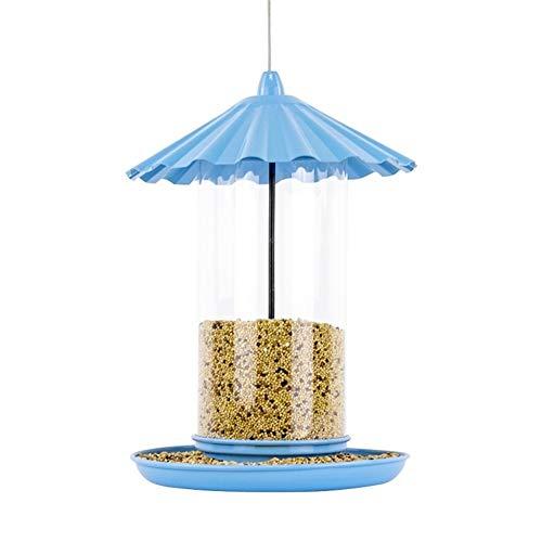 - Blue Baking Varnish Metal Bird Feeder for Outside | 11